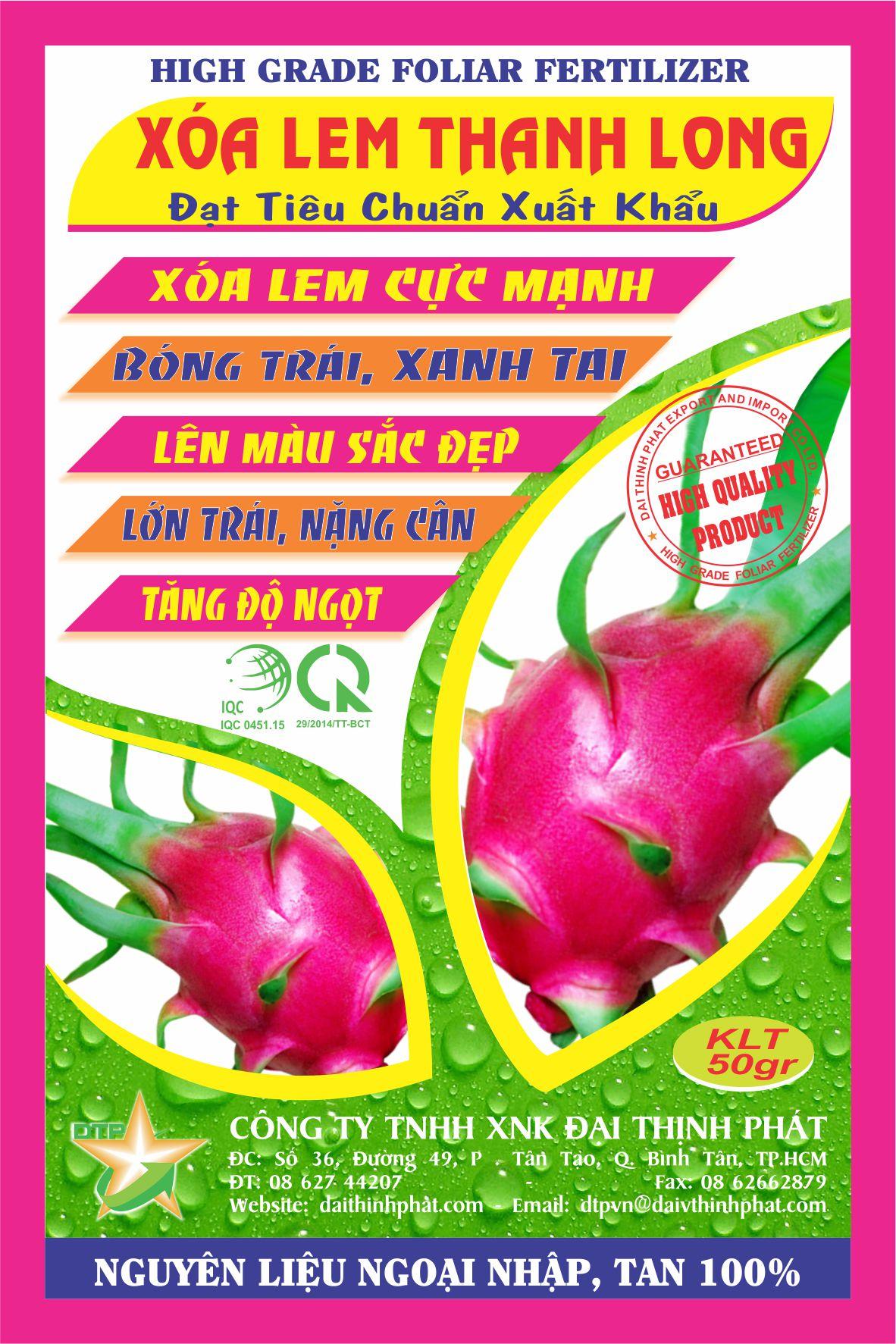 XOA LEM THANH LONG 1